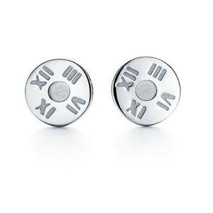 Tiffany&CO sterling silver atlas stud earring